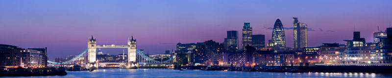 Buy to let property in London - skyline